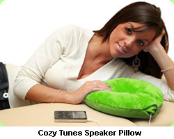 Sweet Dreams With The Pillow Speaker Pillow Wearable