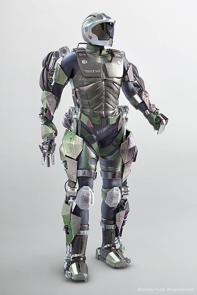 The Top 5 Wearable Suits That Will Blow Your Mind ... Futuristic Robot Soldier