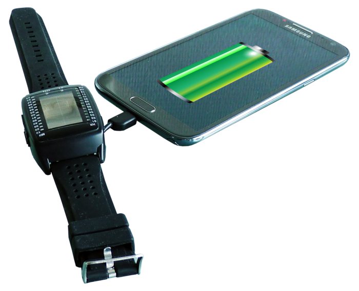 Powerbank Watch Uses Solar Power To Charge Your Gadgets