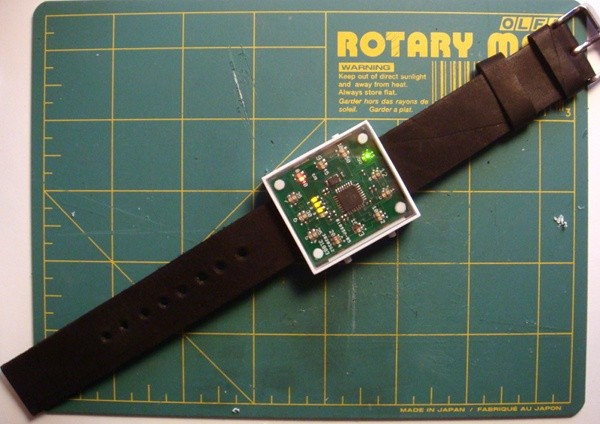 Arduino diy led watch is the timepiece of your geek fueled